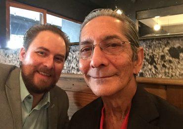 Ben Williams and Achmat Dangor